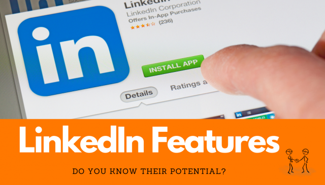 Episode 6 - LinkedIn Features - Do You Know Their Potential? Person clicking on a LinkedIn page.